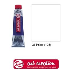 Краски масляные, Art Creation, Royal Talens, (40 мл), Белила титановые (105)
