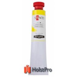 Масляные краски, Santi Studio, (60 мл), Кадмий лимонный №08