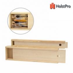 Пенал для кистей деревянный ПК2, (35х4,9х3см)