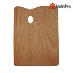 Палитра деревянная, прямоугольная, 30х40см., (товщина 5мм.), D.K.ART § CRAFT