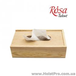 Заготовки для декупажа, Салфетница деревянная, 24х14х7см