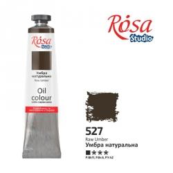 Краска масляная, Умбра натуральная 60мл, ROSA Studio