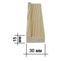 Подрамник для холста 15х30мм (smoll)