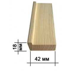Подрамник для холста 18х42мм (standart)
