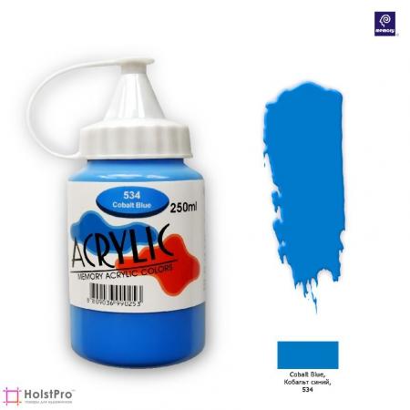 Акриловая краска Memory professional - Кобальт Синий, 250 мл
