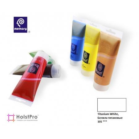 Акриловая краска Memory professional - Белила титановые, 75 мл