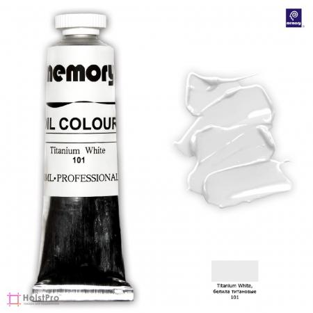 Масляная краска Memory professional, Белила титановые, 50 мл