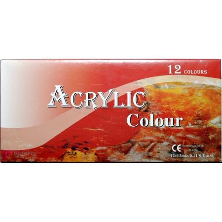 Набор акриловых красок Memory basic, 12х12 мл