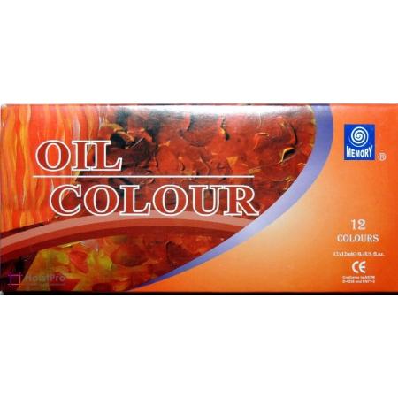 Hабор масляных красок Memory professional, 12х12 мл