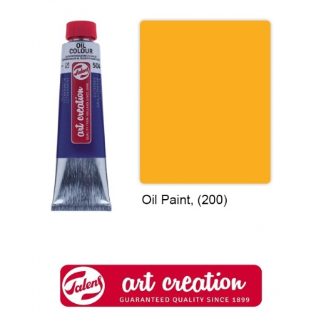Краски масляные, Art Creation, Royal Talens, (40 мл), Желтый (200)