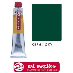 Краски масляные, Art Creation, Royal Talens, (40 мл), Сине-зеленый тёмный (637)