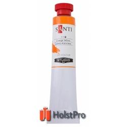 Масляные краски, Santi Studio, (60 мл), Кадмий оранжевый №24