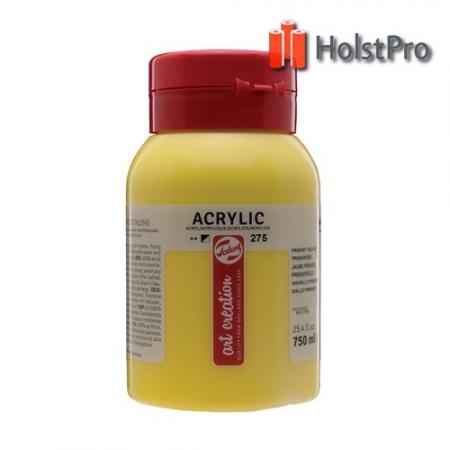 Краска акриловая, Talens Art Creation (275) Первичный желтый, 750 мл