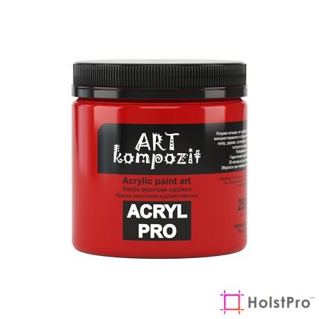 Краска акриловая, Красный, 430 мл, Art Kompozit