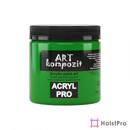 Краска акриловая, Зеленый светлый, 430 мл, Art Kompozit