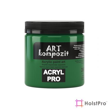 Краска акриловая, Зеленый особенный, 430 мл, Art Kompozit