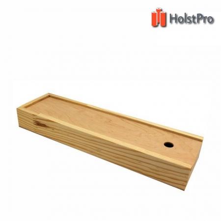 Пенал для кистей деревянный ПК4, (35х9,8х4см)