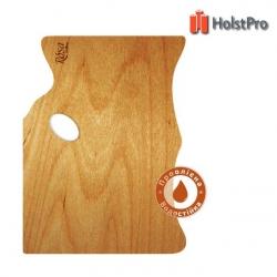 Палитра деревянная, прямоугольная МОДЕРН, эргономичная, промасленная, 30*40см, ROSA