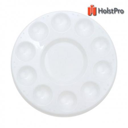 Палитра пластиковая круглая (d:17,8см.), D.K.ART § CRAFT