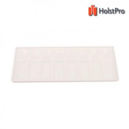 Палитра пластиковая прямоугольная, проф., 11х30,5см., D.K.ART § CRAFT