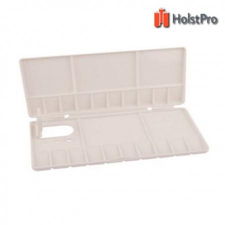 Палитра пластиковая, профессиональная складывающаяся, 20х10х1,8см., D.K.ART § CRAFT