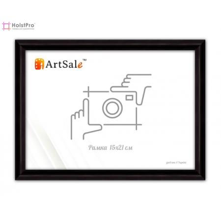 Фоторамка 15х21 см, черная ТМ АртСейл Art: FF1417101-1