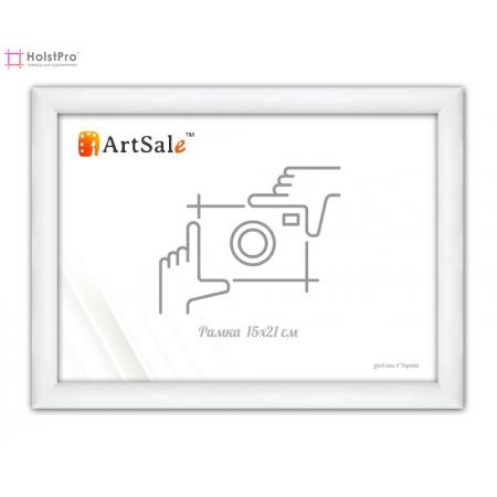 Фоторамка 15х21 см, белая ТМ АртСейл Art: FF141764-1