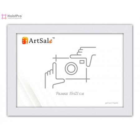 Фоторамка 15х21 см, белая ТМ АртСейл Art: FF161164-1