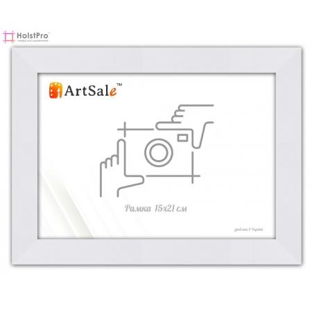 Фоторамка 15х21 см, белая ТМ АртСейл Art: FF221664-1