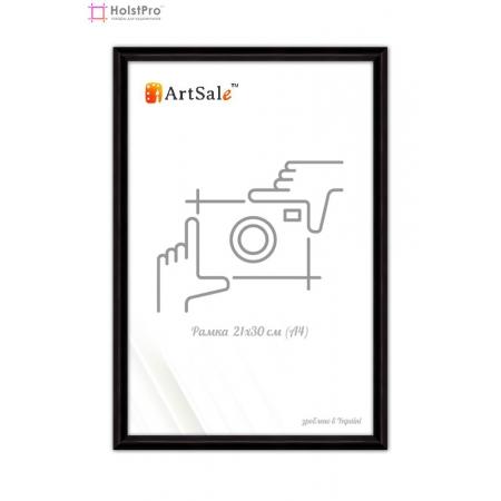 Рамка для диплома А4 черная ТМ АртСейл Art: FF1417101-2