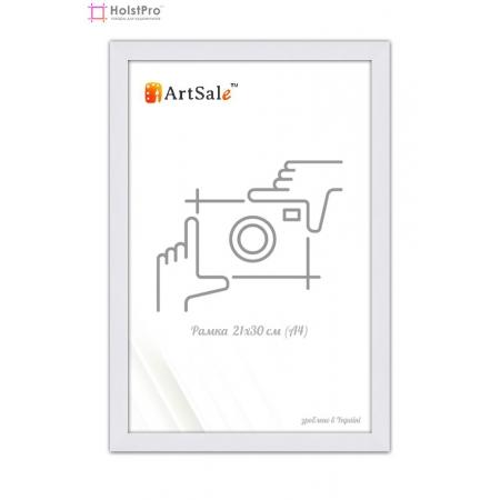 Рамка для диплома А4 белая ТМ АртСейл Art: FF161164-2