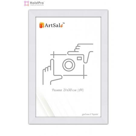 Рамка для диплома А4 белая ТМ АртСейл Art: FF221664-2