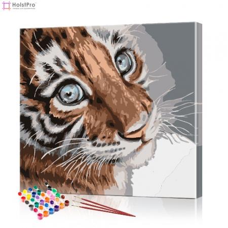 "Картина по номерам ""Тигренок"" PBN0009, размер 30х30 см"