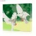 "Картина по номерам ""Пара голубей"" PBN0011, размер 30х30 см"