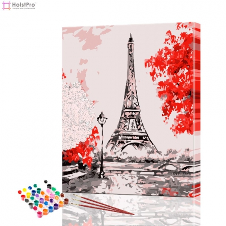 "Картина по номерам ""Париж"" PBN0017, размер 30х40 см"