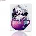 "Картина по номерам ""Веселая панда"" PBN0021, размер 30х40 см"