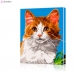 "Картина по номерам ""Рыжий кот"" PBN0031, размер 30х40 см"