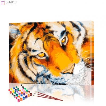 "Картина по номерам ""Тигрица"" PBN0035, размер 30х40 см"