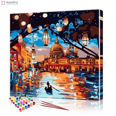 "Картина по номерам ""Венеция"", размер 40х40 см"