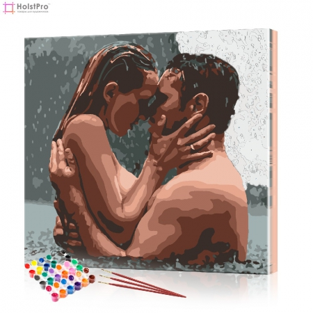 "Картина по номерам ""Влюбленная пара"" PBN0056, размер 40х40 см"