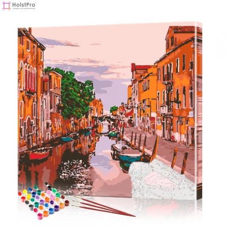 "Картина по номерам ""Венецианский пейзаж"" PBN0064, размер 40х40 см"
