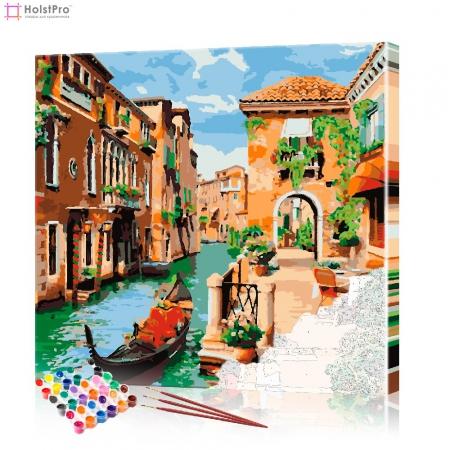 "Картина по номерам ""Прогулки по Венеции"" PBN0066, размер 40х40 см"