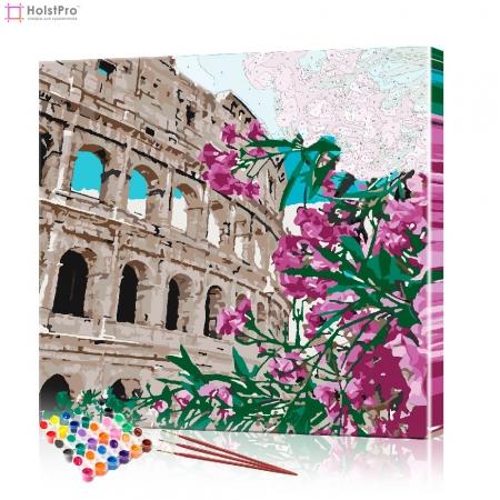 """Картина по номерам """"Рим"""" PBN0068, размер 40х40 см"""