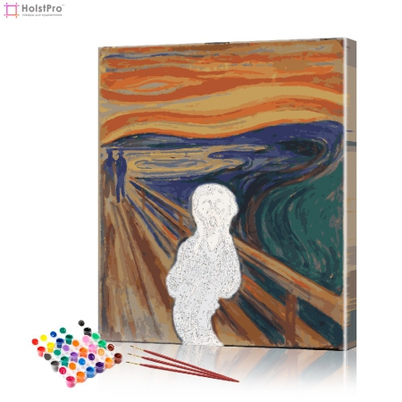 "Картина по номерам ""Крик"" PBN0108, размер 40х50 см"