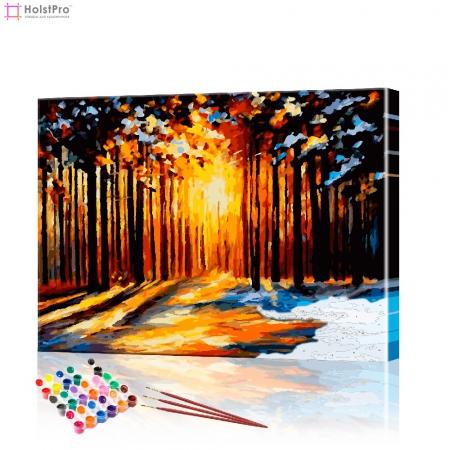 "Картина по номерам ""Лесной пейзаж"" PBN0114, размер 40х50 см"