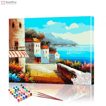 """Картина по номерам """"Италия"""" PBN0130, размер 40х50 см"""
