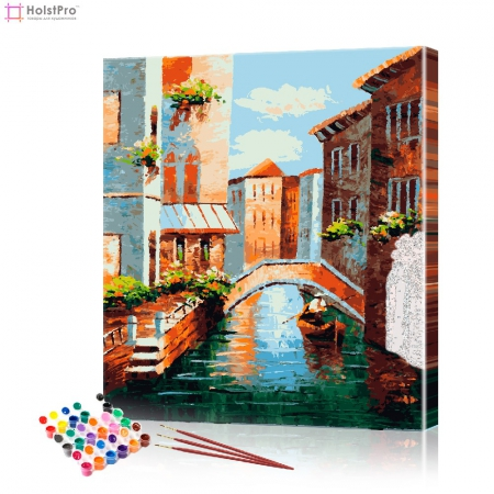 """Картина по номерам """"Венецианские каналы"""" PBN0132, размер 40х50 см"""
