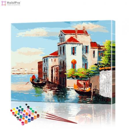 "Картина по номерам ""Венеция"" PBN0134, размер 40х50 см"