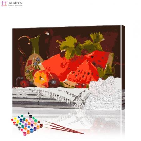 "Картина по номерам ""Фруктовый натюрморт"" PBN0146, размер 40х50 см"