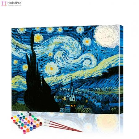 "Картина по номерам ""Ночь Ван Гога"" PBN0162, размер 40х50 см"